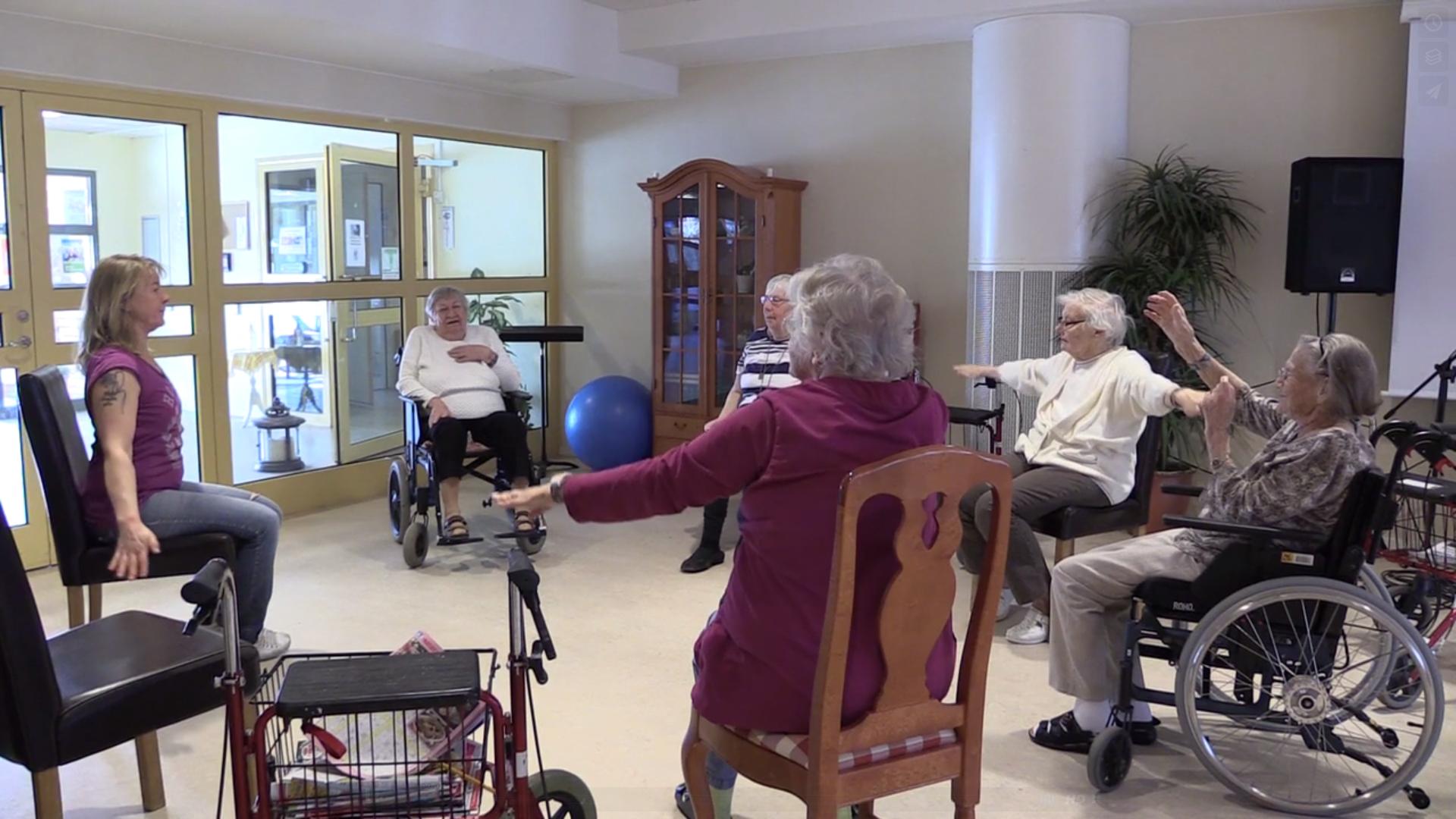 Aktiviteter för äldre på Selggrensgården