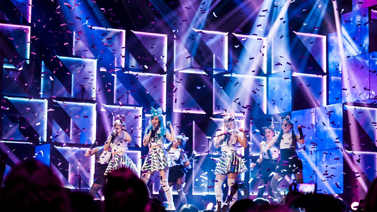 Dolly style melodifestivalen 2016 i Gävle.