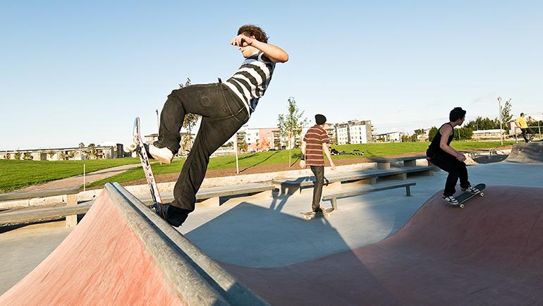 jungfruparken skateparken