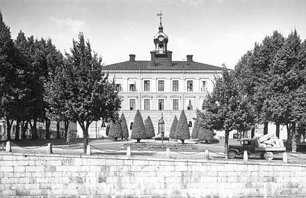 Rådhuset början på 1900-talet