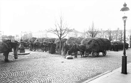 Stortorget i början av 1900-talet
