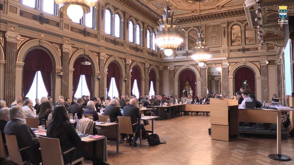 Kommunfullmäktige sammanträder