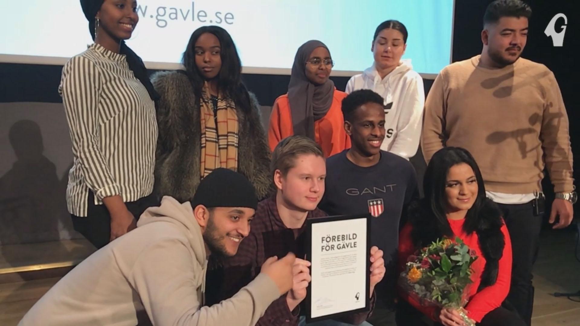 Kommunens nya sociala utmärkelse till Treffens Unga i Sätra