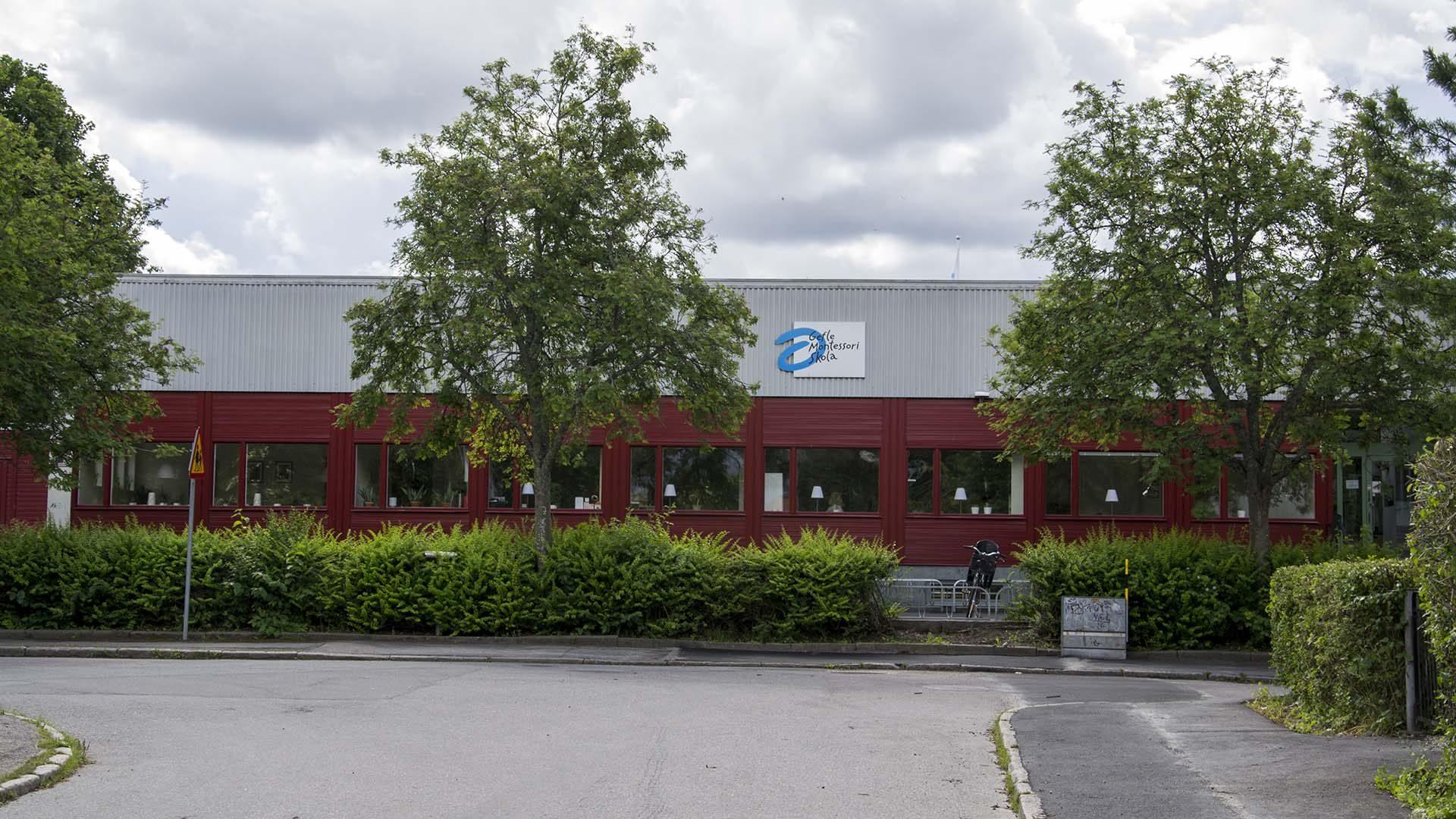 Gefle Montessoriskola från utsidan