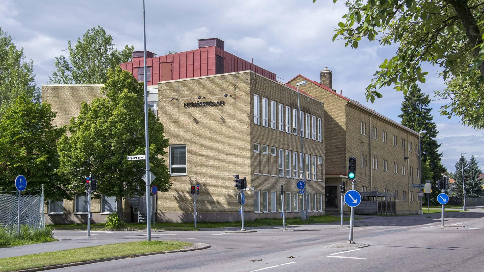 Nynässkolan från utsidan