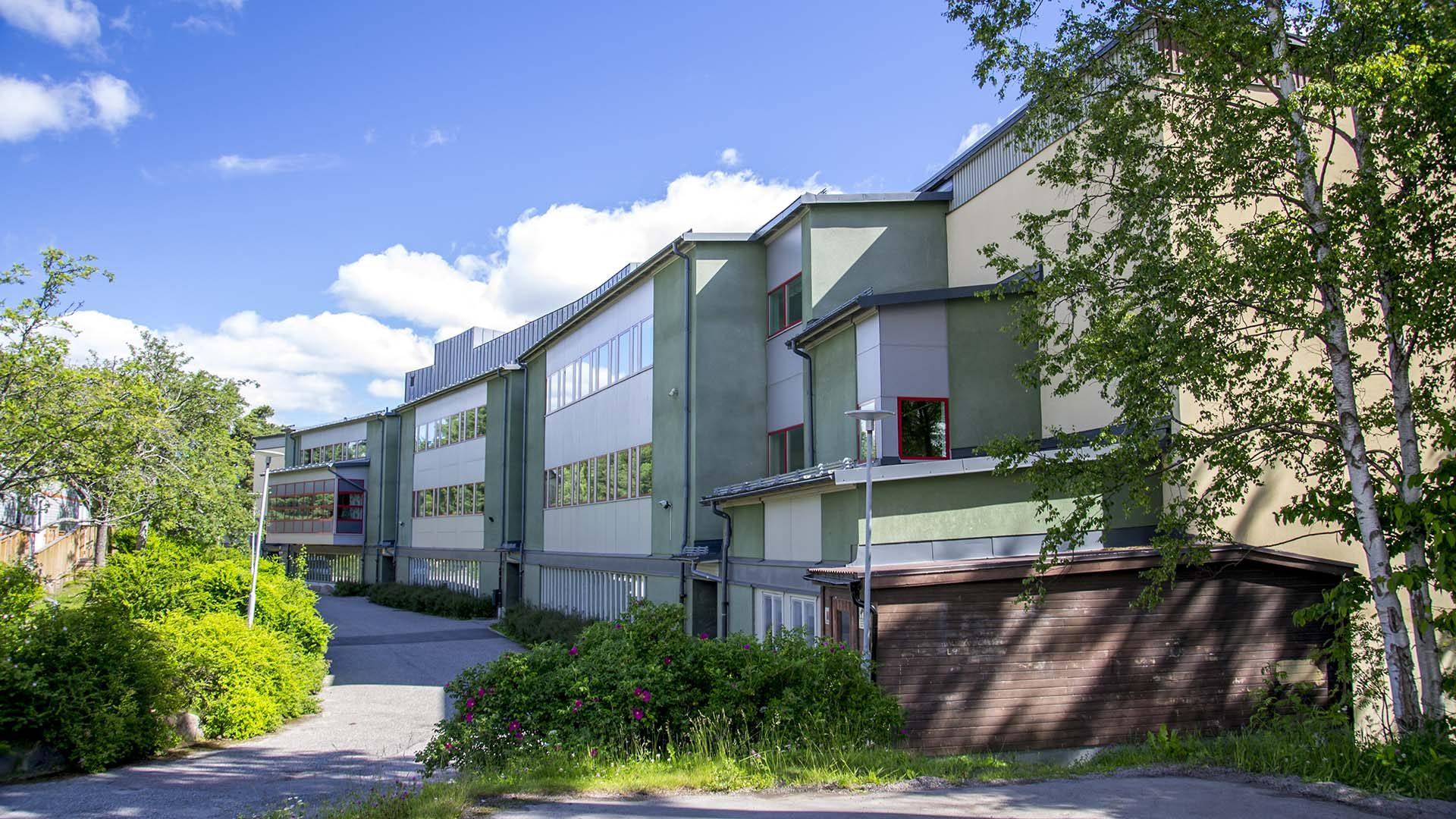 Stiglundsskolan från utsidan
