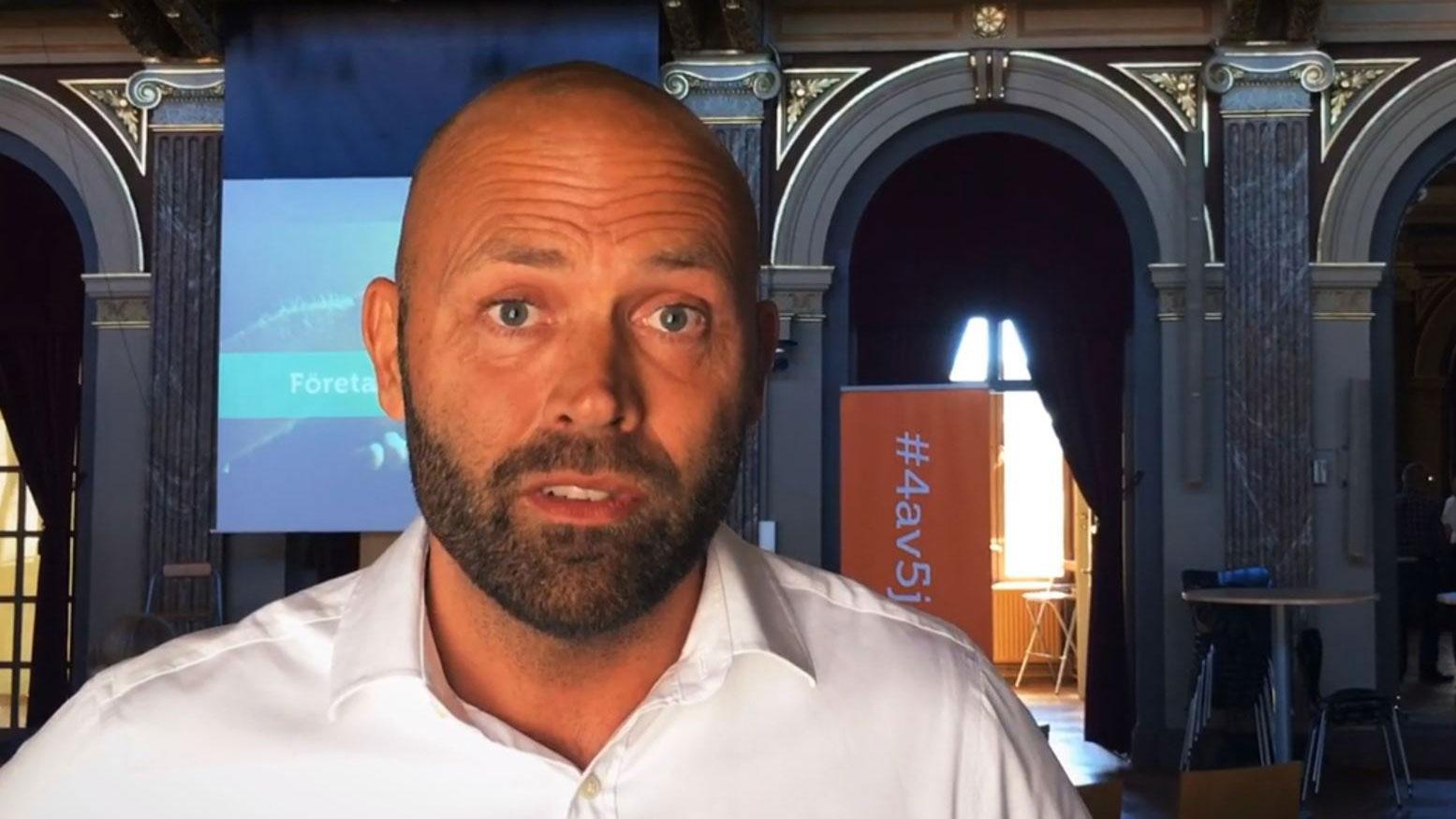 Gävle kommuns näringslivschef Johan Tunhult