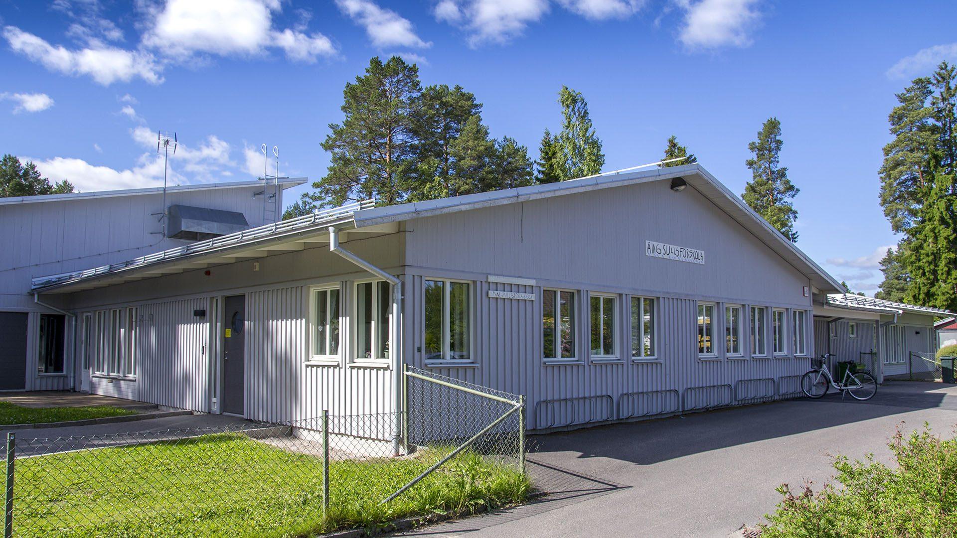Exteriörbild på Ängsulls förskola