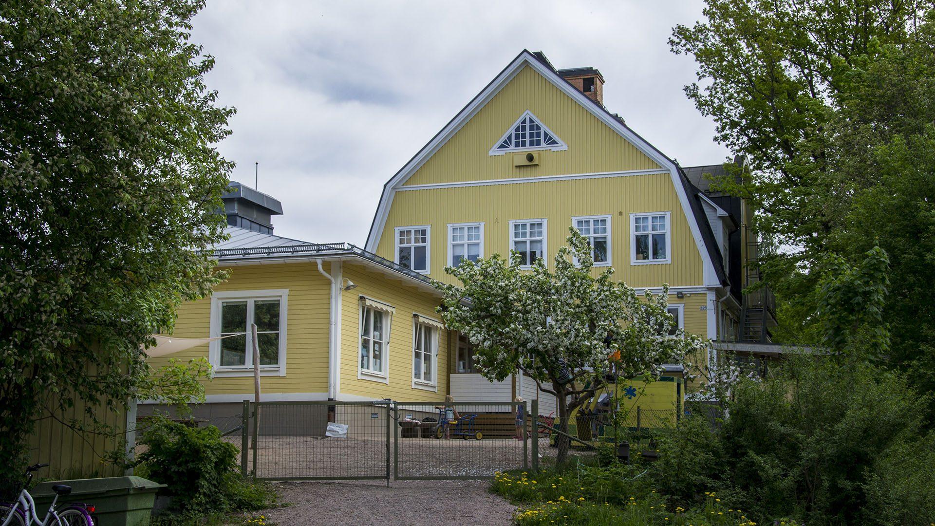 Exteriörbild på Åbyggeby förskola