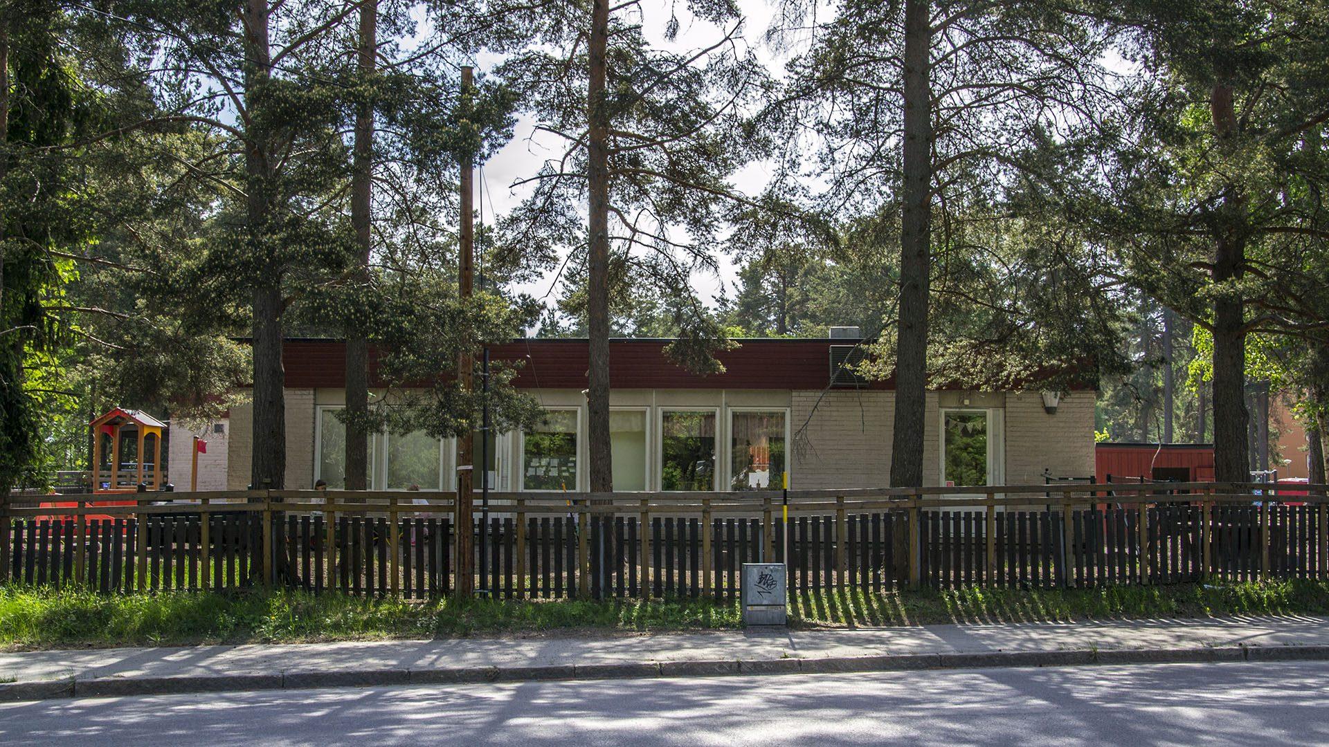 Exteriörbild på Ålvgårdens förskola