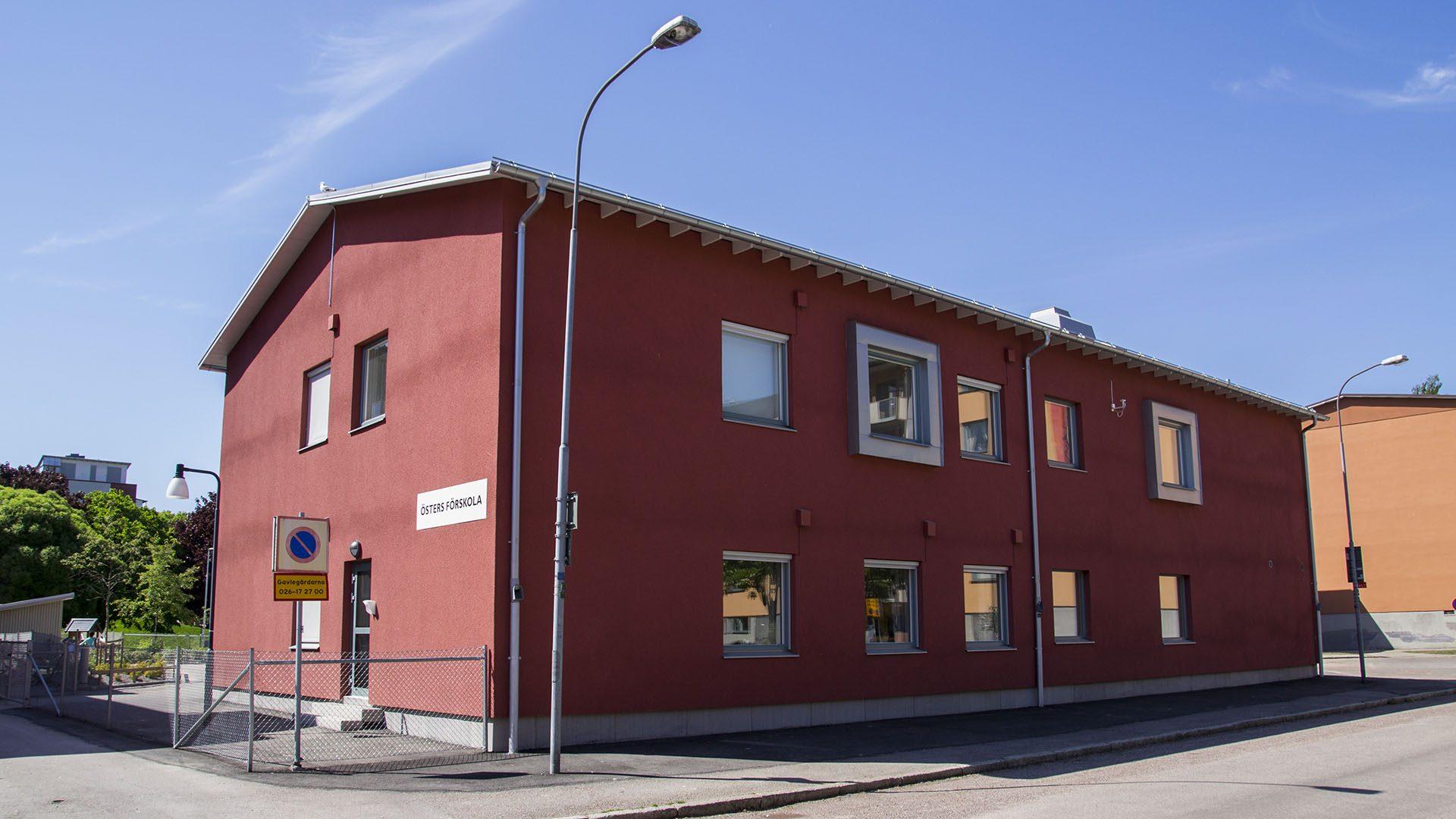 Exteriörbild på Östers förskola