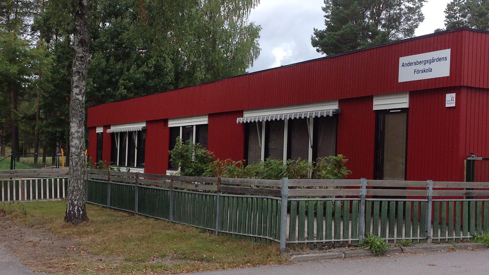 Exteriörbild på Andersbergsgården
