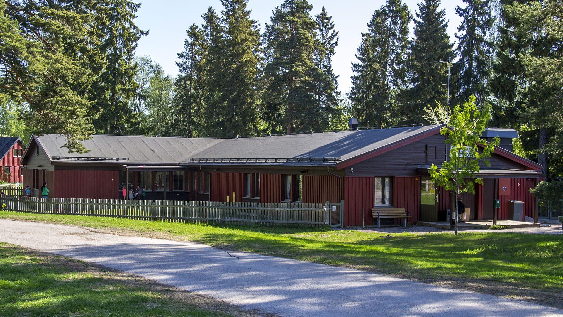 Exteriörbild på Björngården