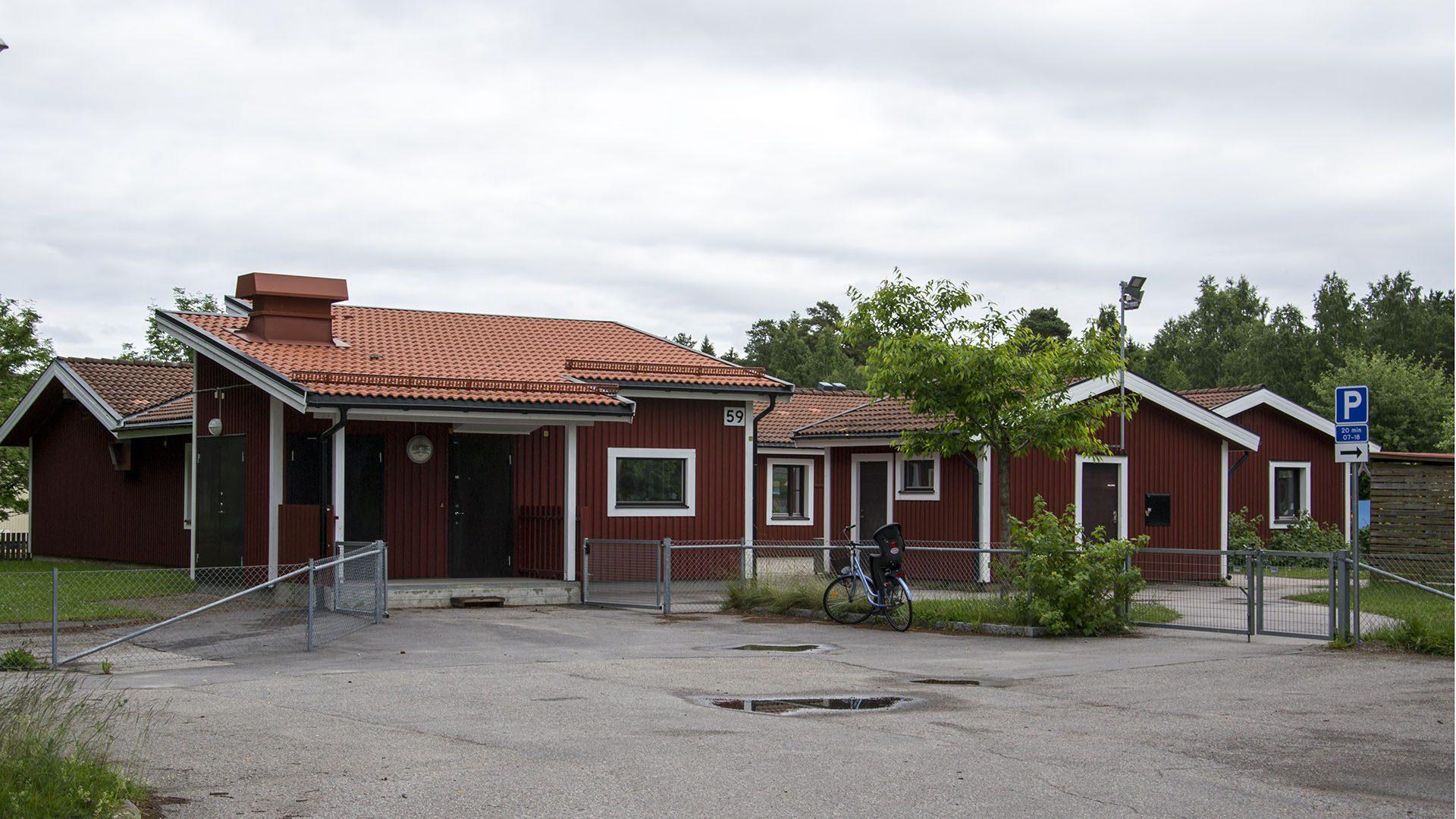 Exteriörbild på Hövdingavägens förskola
