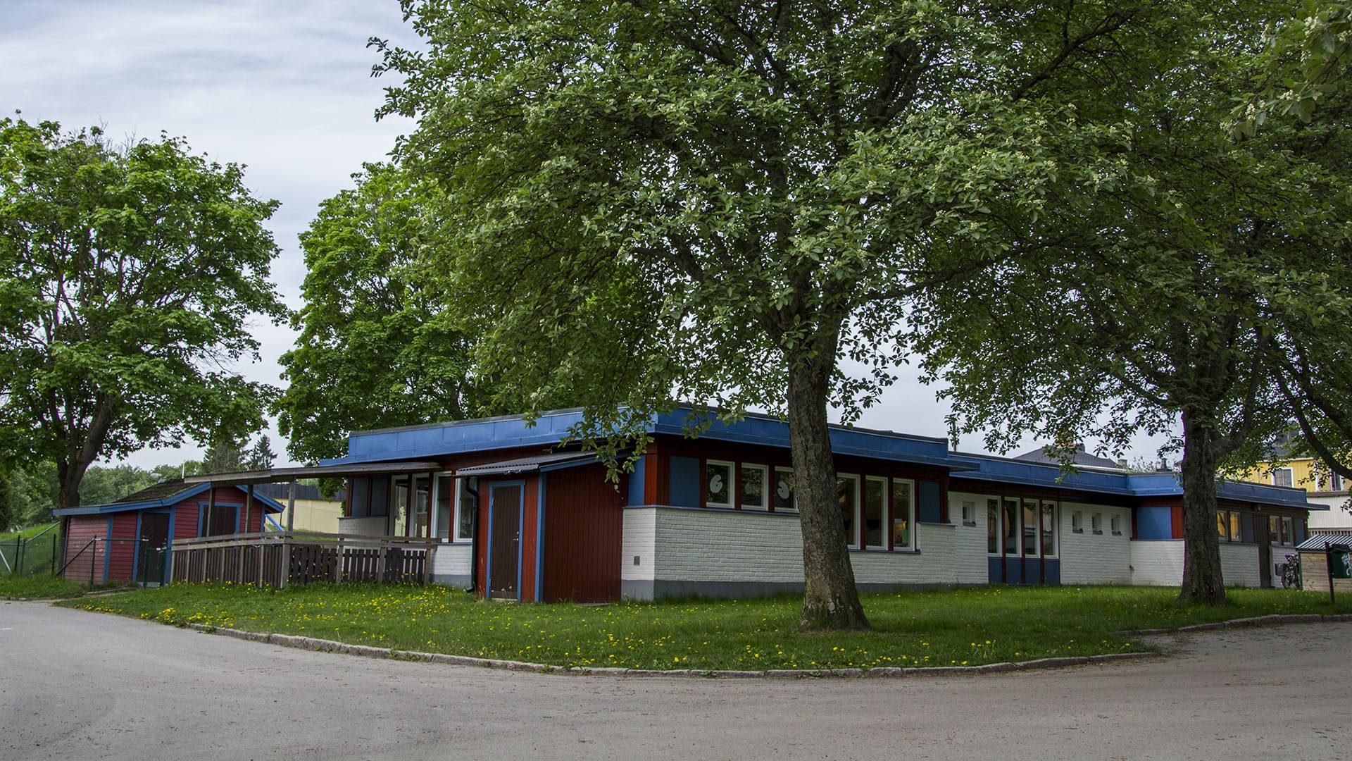 Exteriörbild på Hammargården