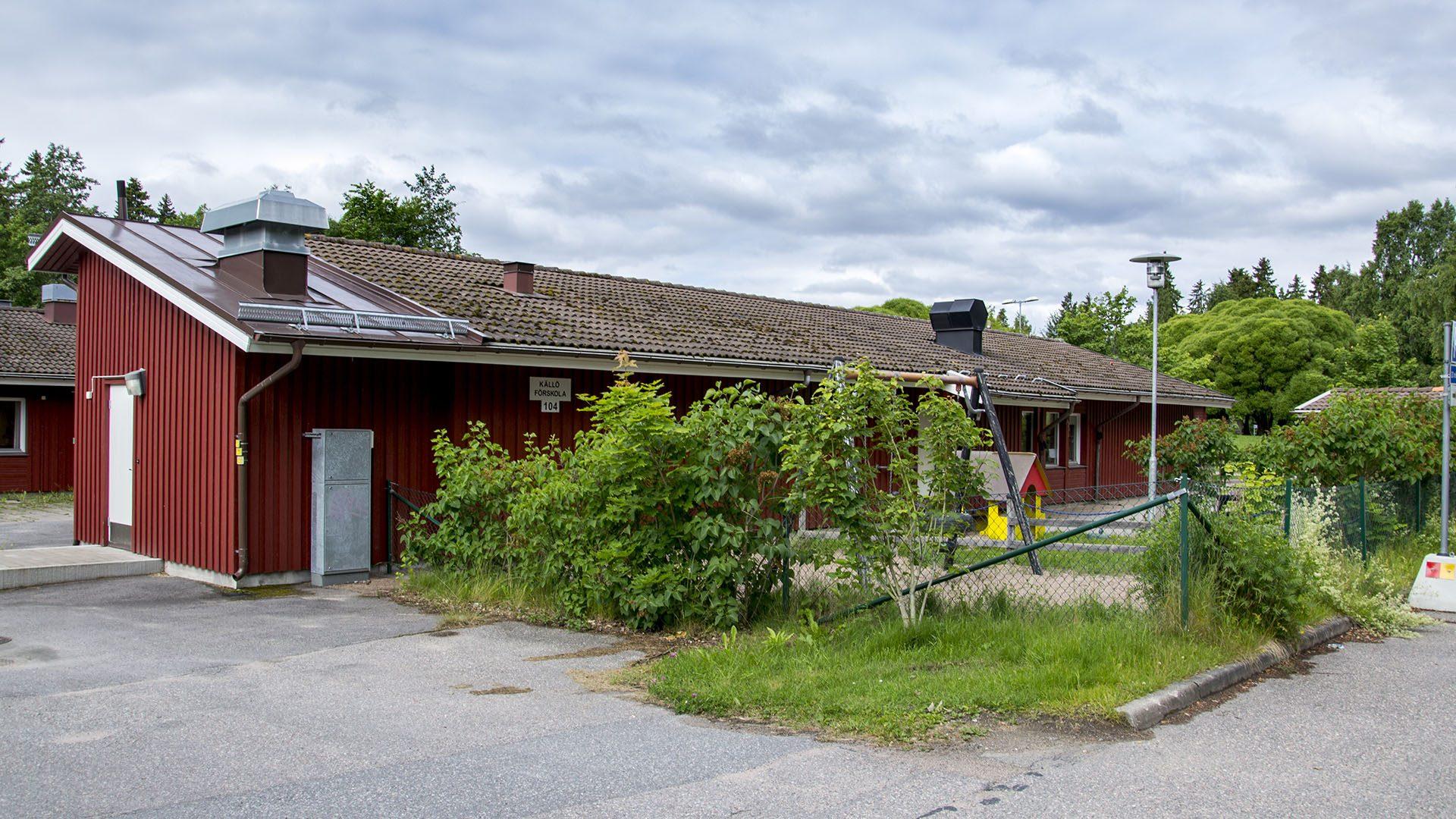 Exteriörbild på Källö förskola