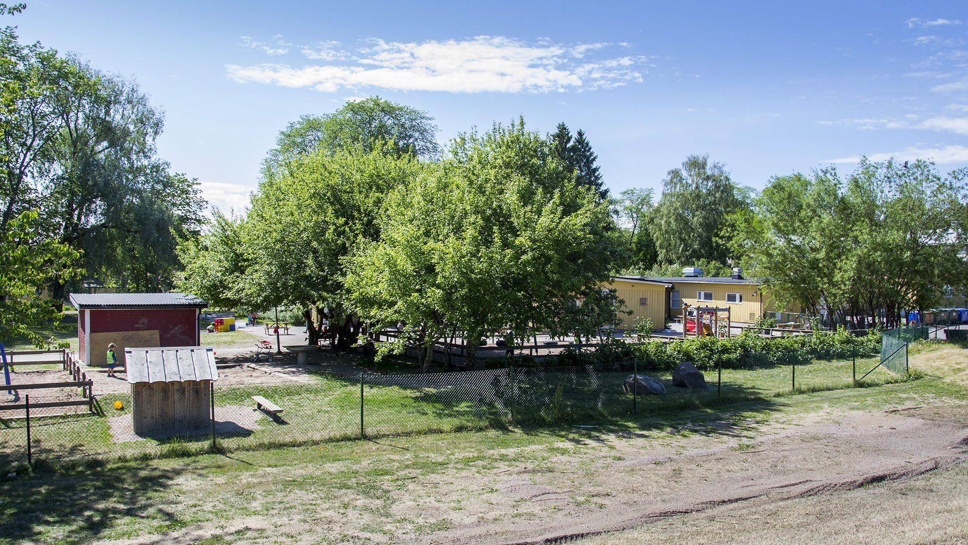 Exteriörbild på Klintbergsgården