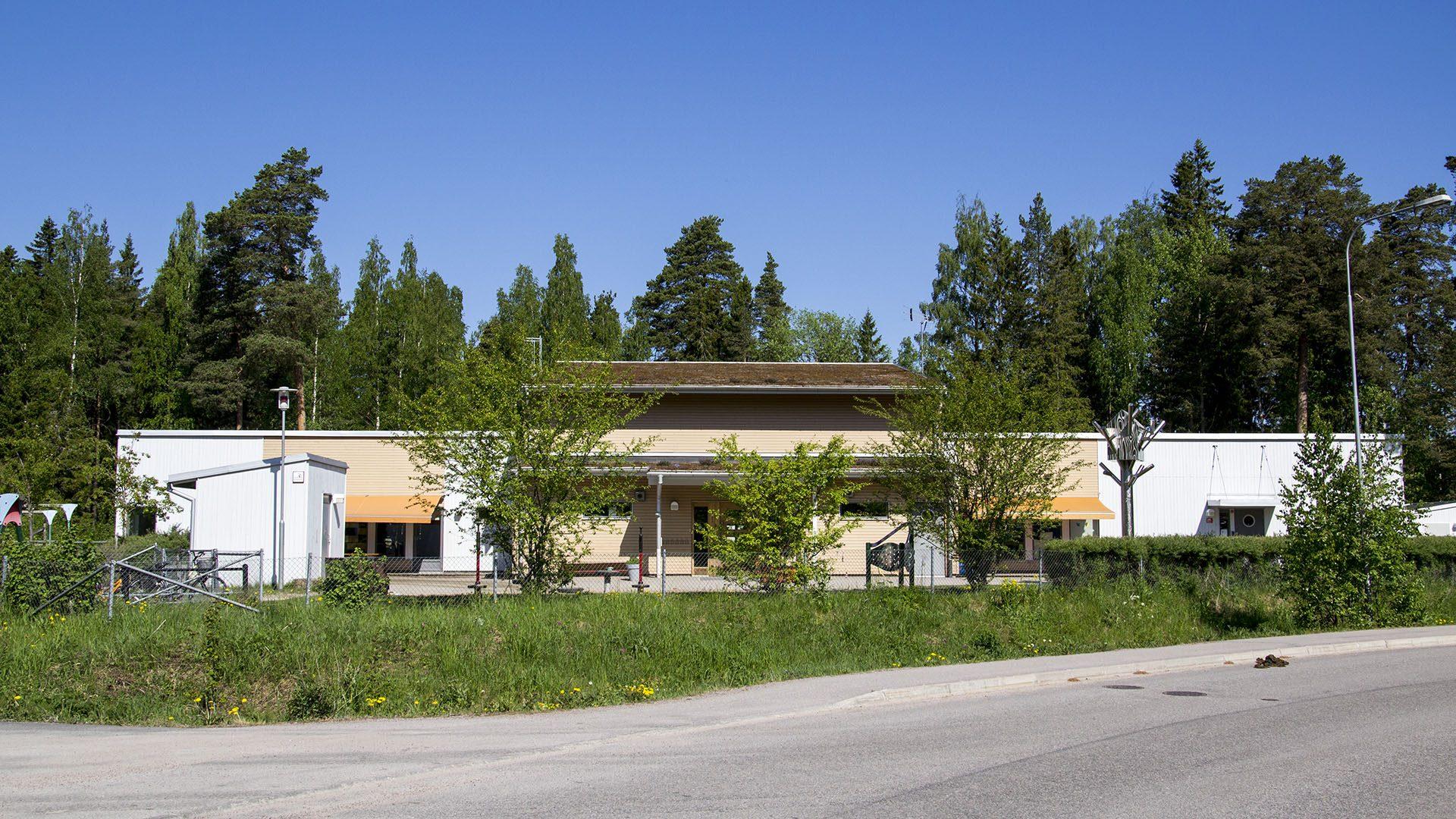 Exteriörbild på Lindbacka förskola