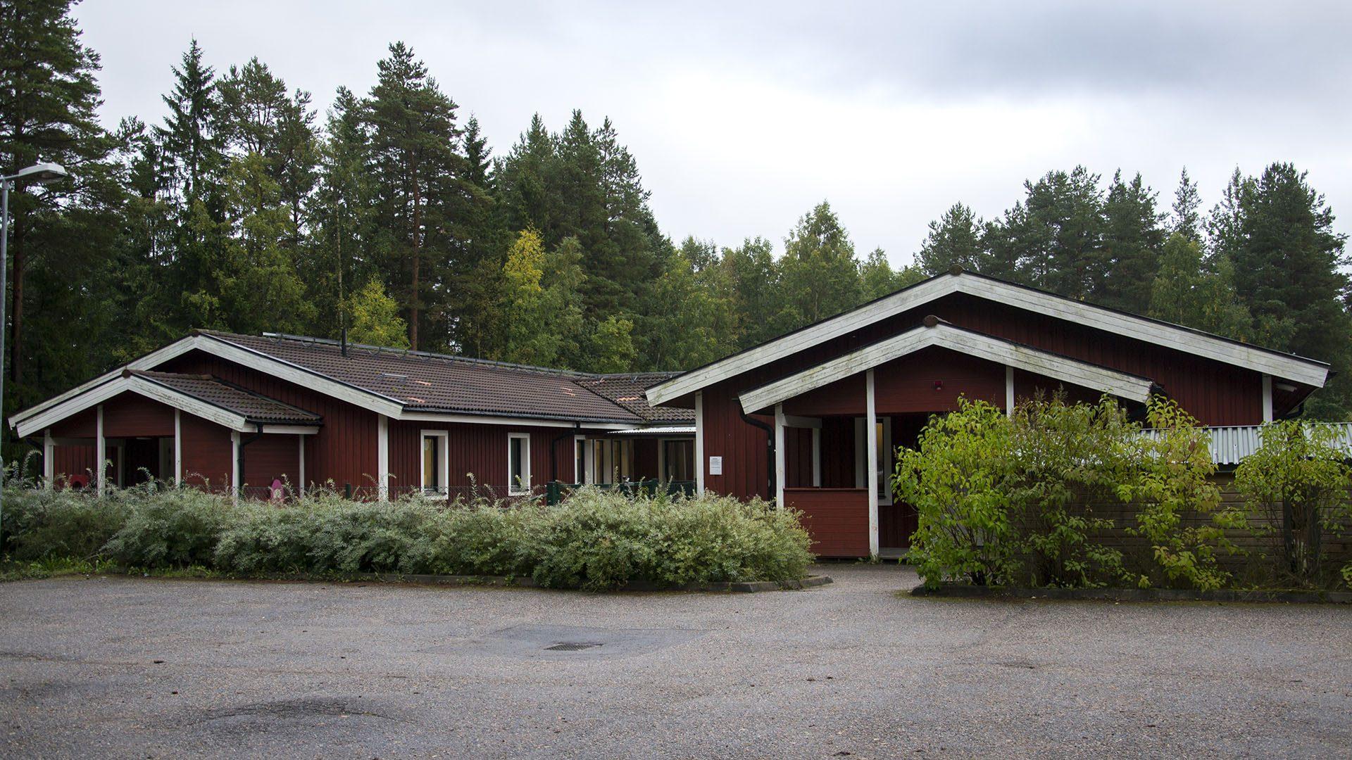 Exteriörbild på Masurgårdens förskola