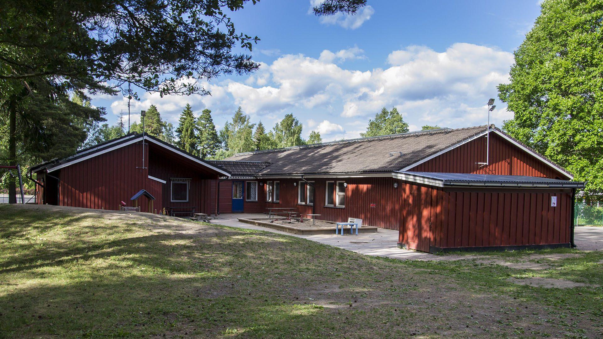 Exteriörbild på Nävergården