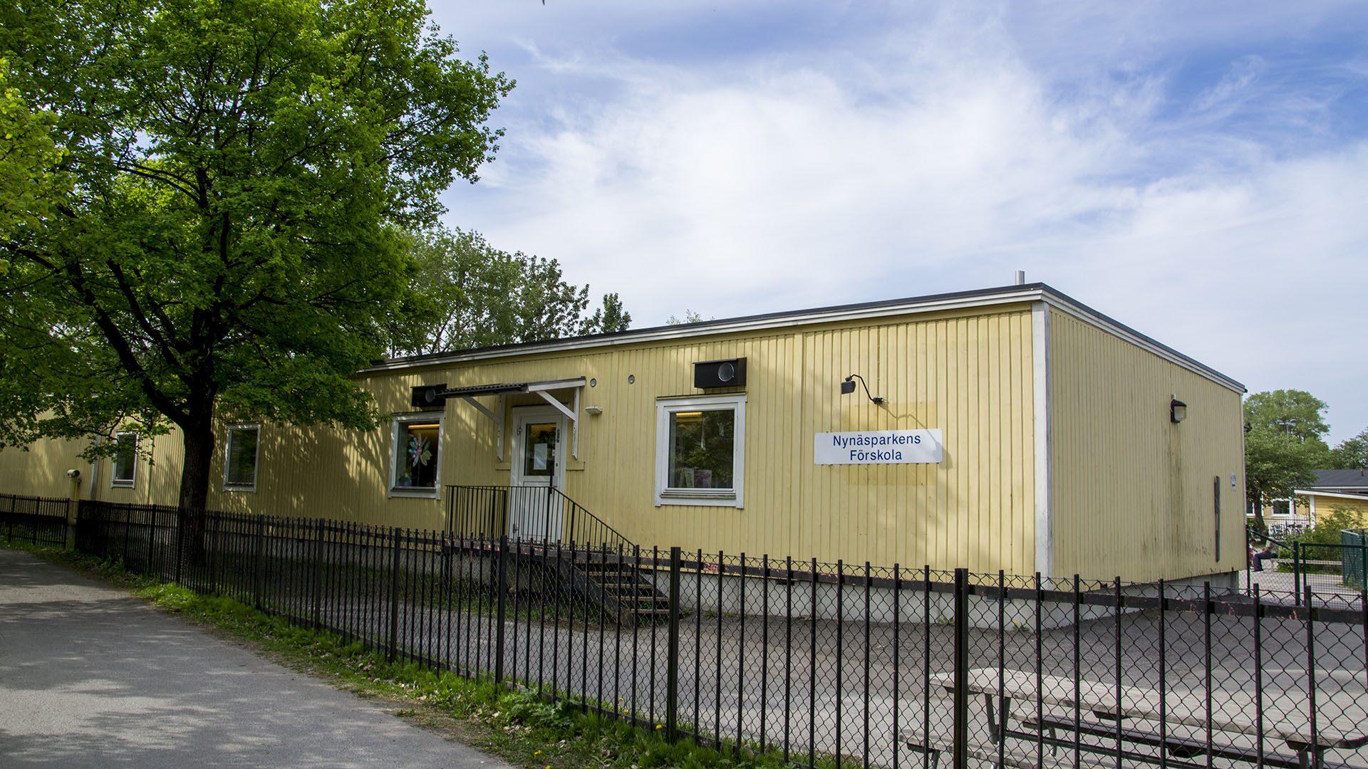 Exteriörbild på Nynärsparkens förskola