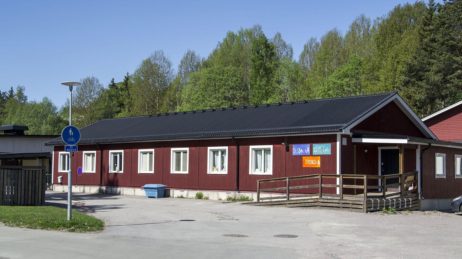 Exteriörbild på Olsbackagården