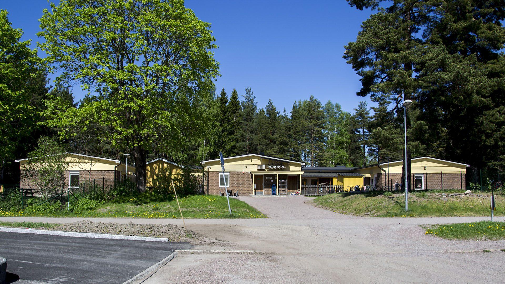 Exteriörbild på Pingeltorps förskola