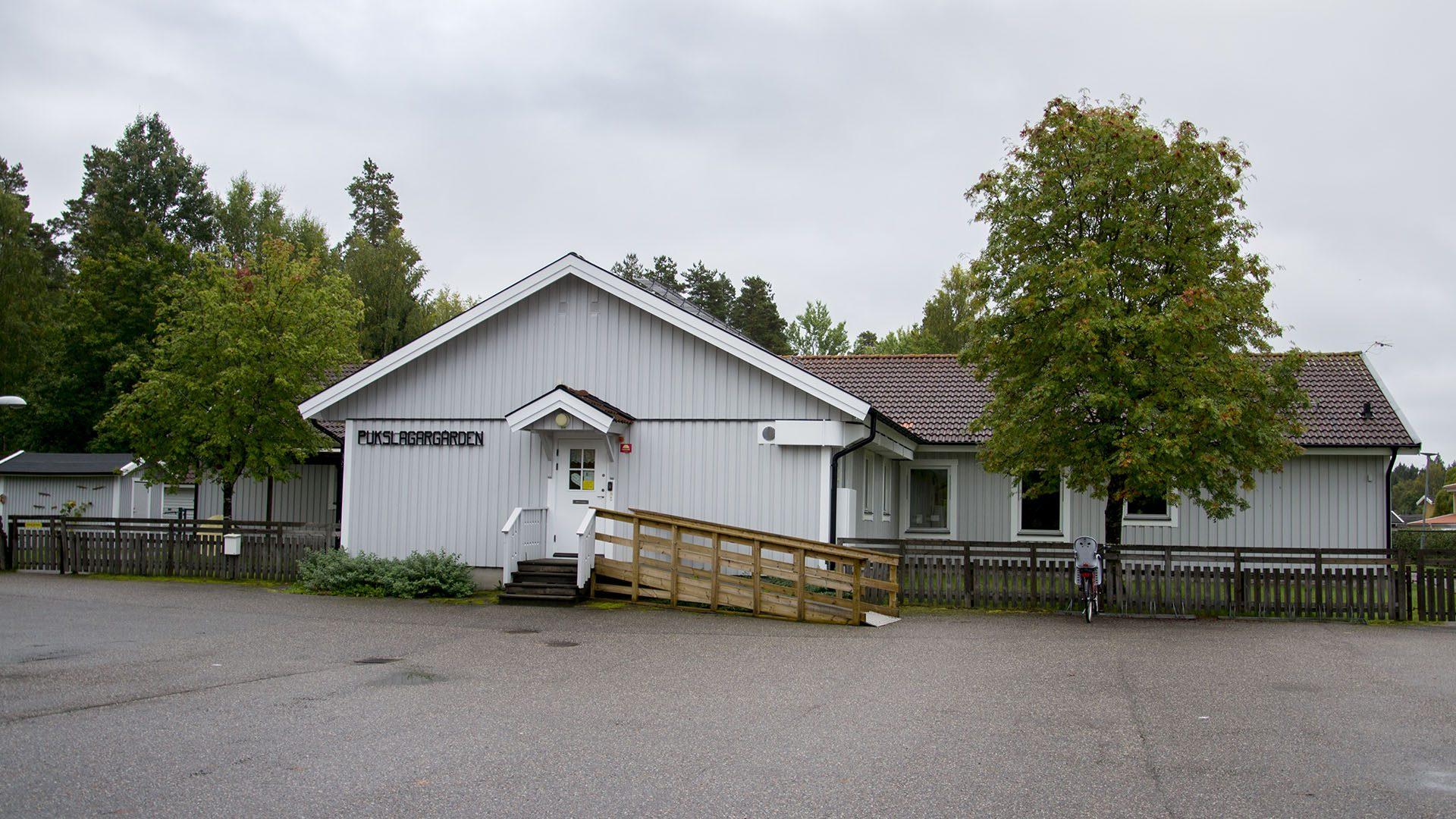 Exteriörbild på Pukslagargården