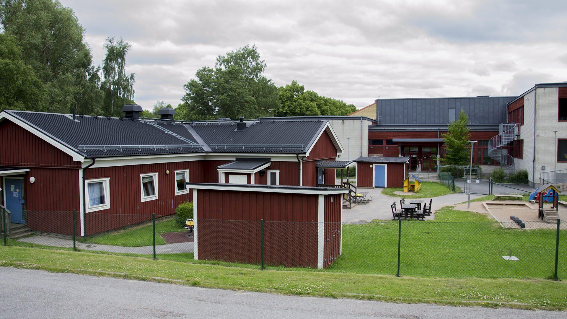 Exteriörbild på Pumpmakargården