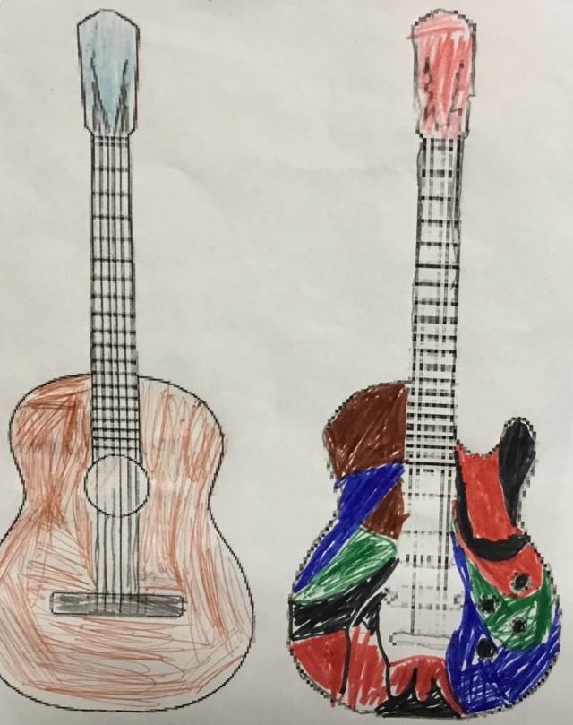 Ritade gitarrer
