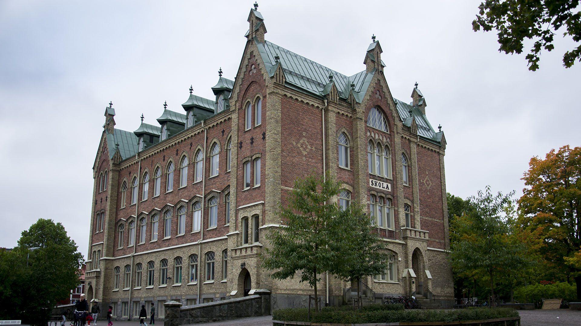 Exteriörbild på Söderslottets förskola