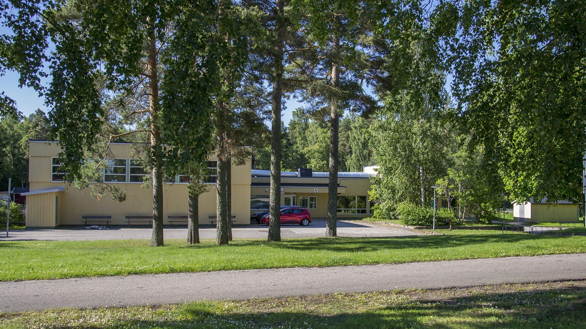 Exteriörbild på Smultronställets förskola
