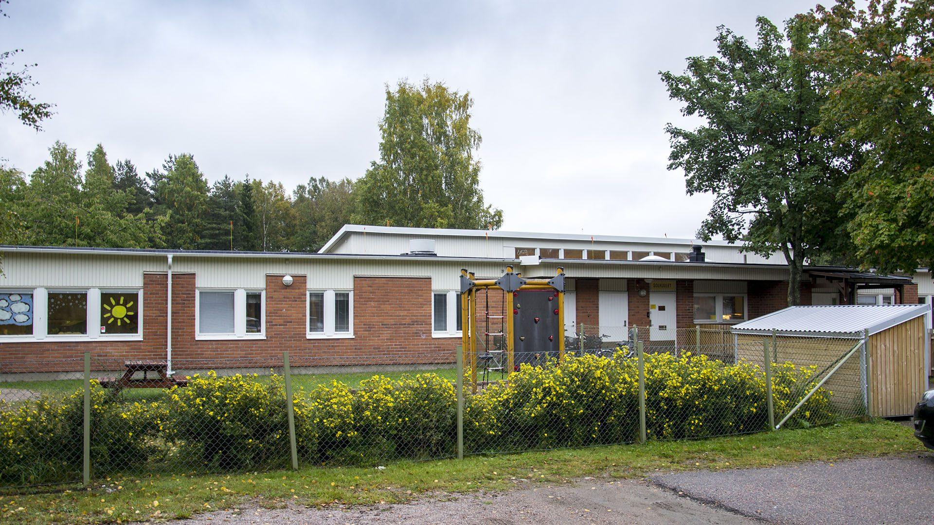 Exteriörbild på Solhjulets förskola
