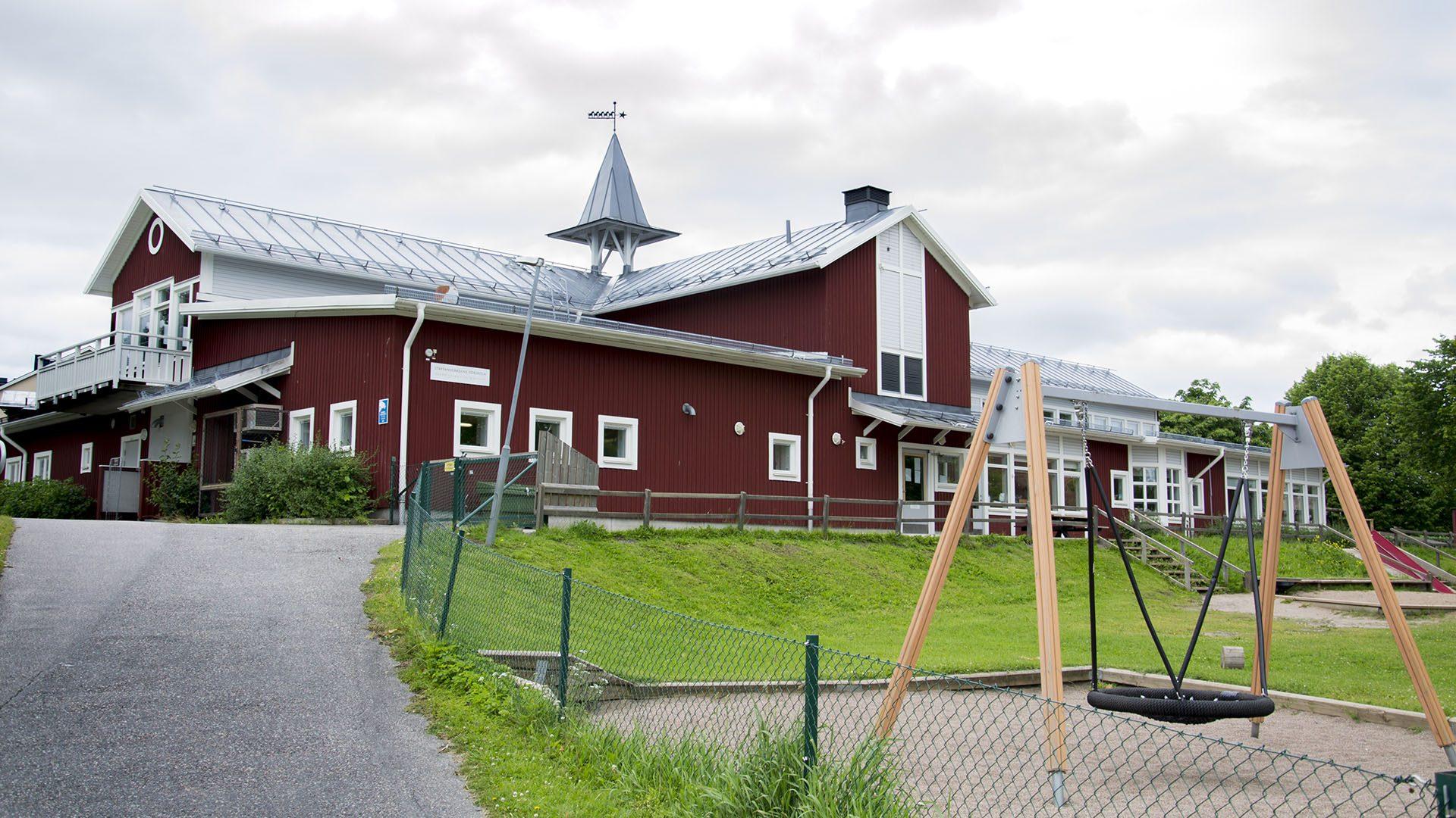 Exteriörbild på Staffansgårdens förskola