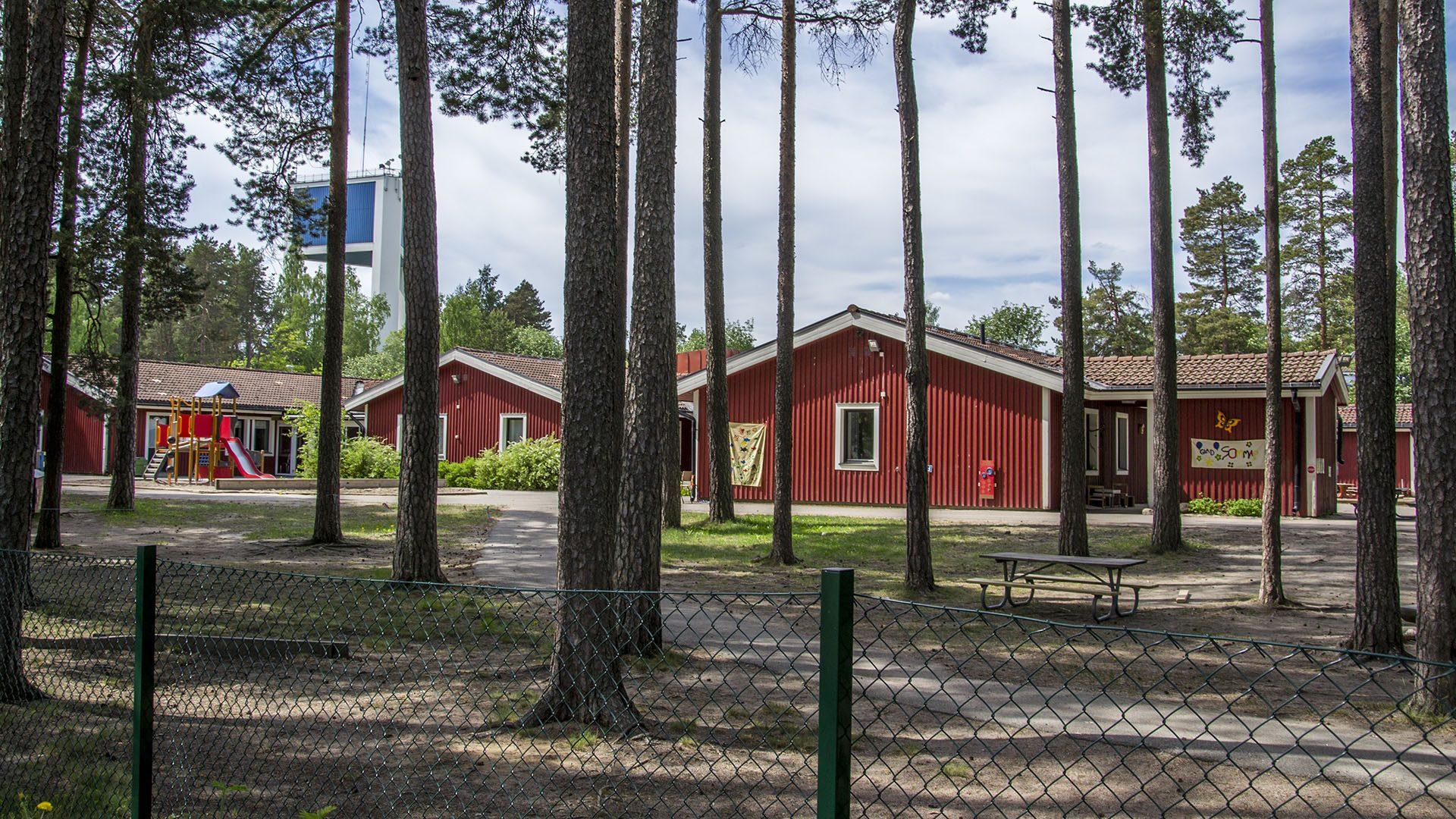 Exteriörbild på Tallåsgården