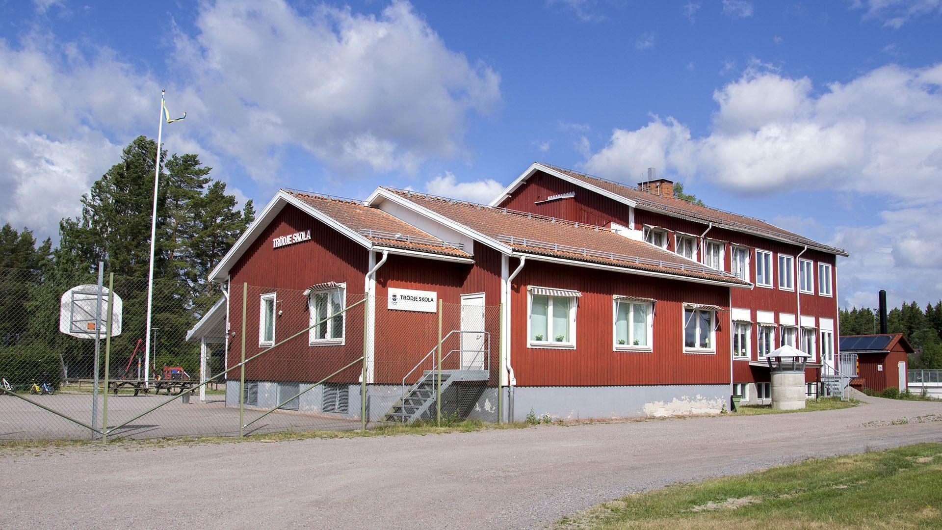 Exteriörbild på Trödje förskola