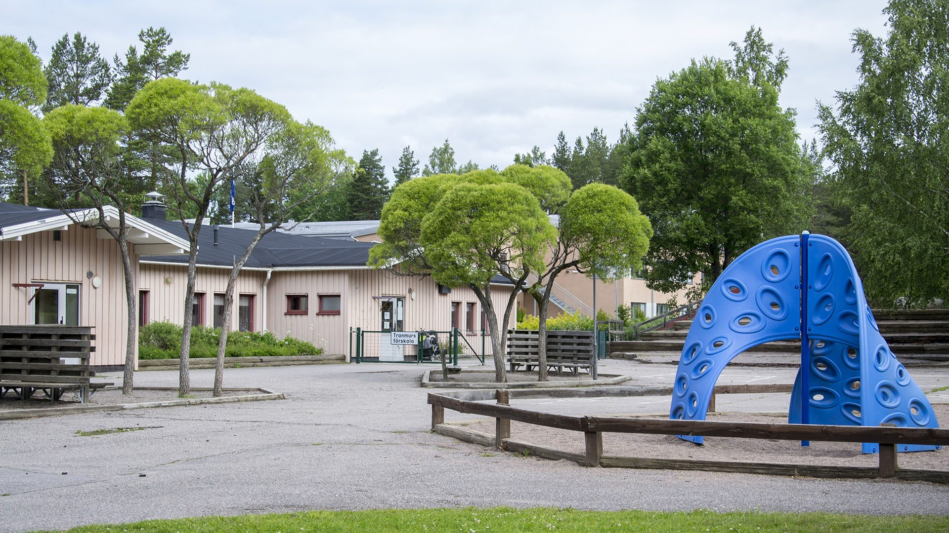 Exteriörbild på Tranmurs förskola
