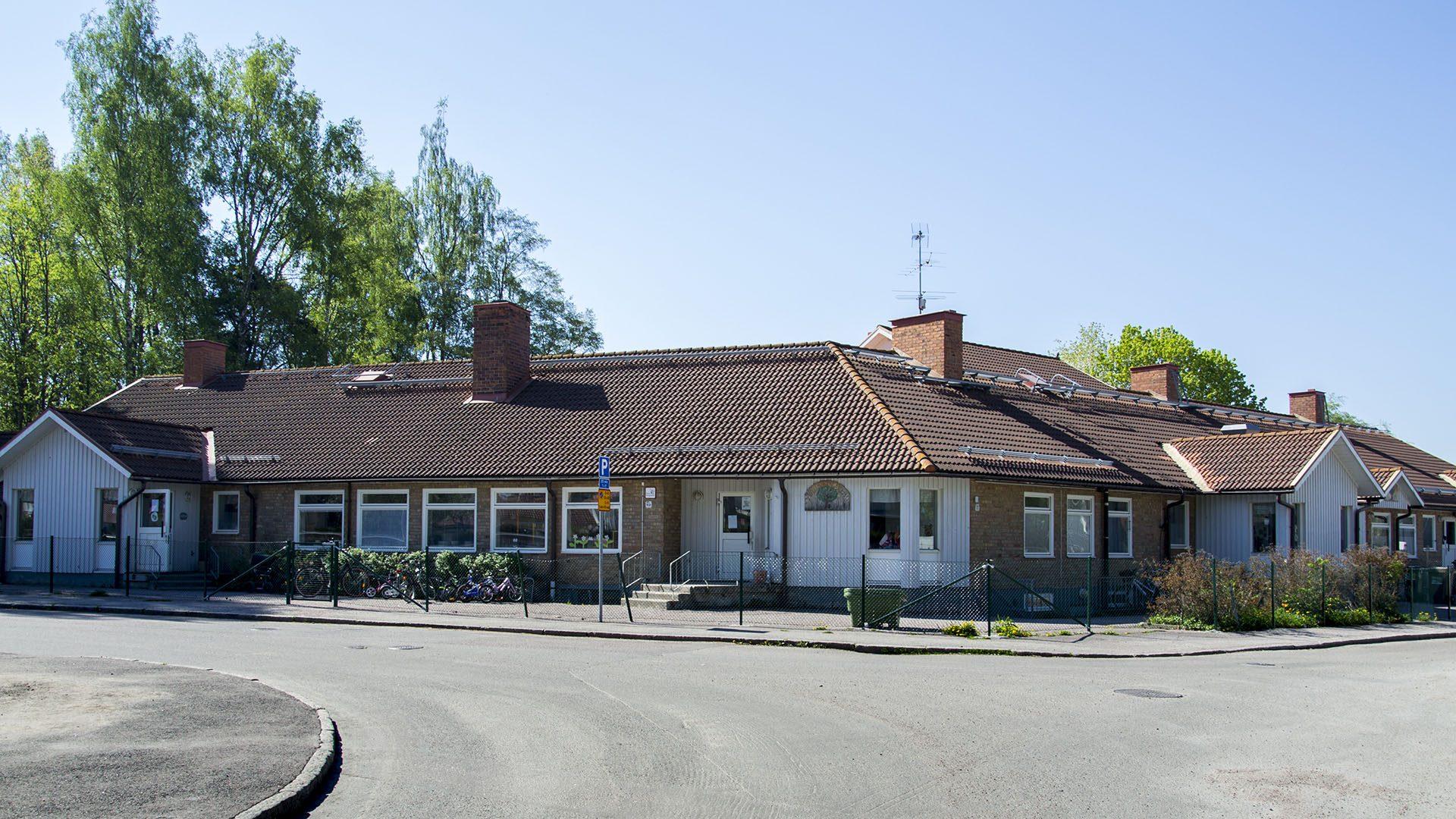 Exteriörbild på Vallbacksgården