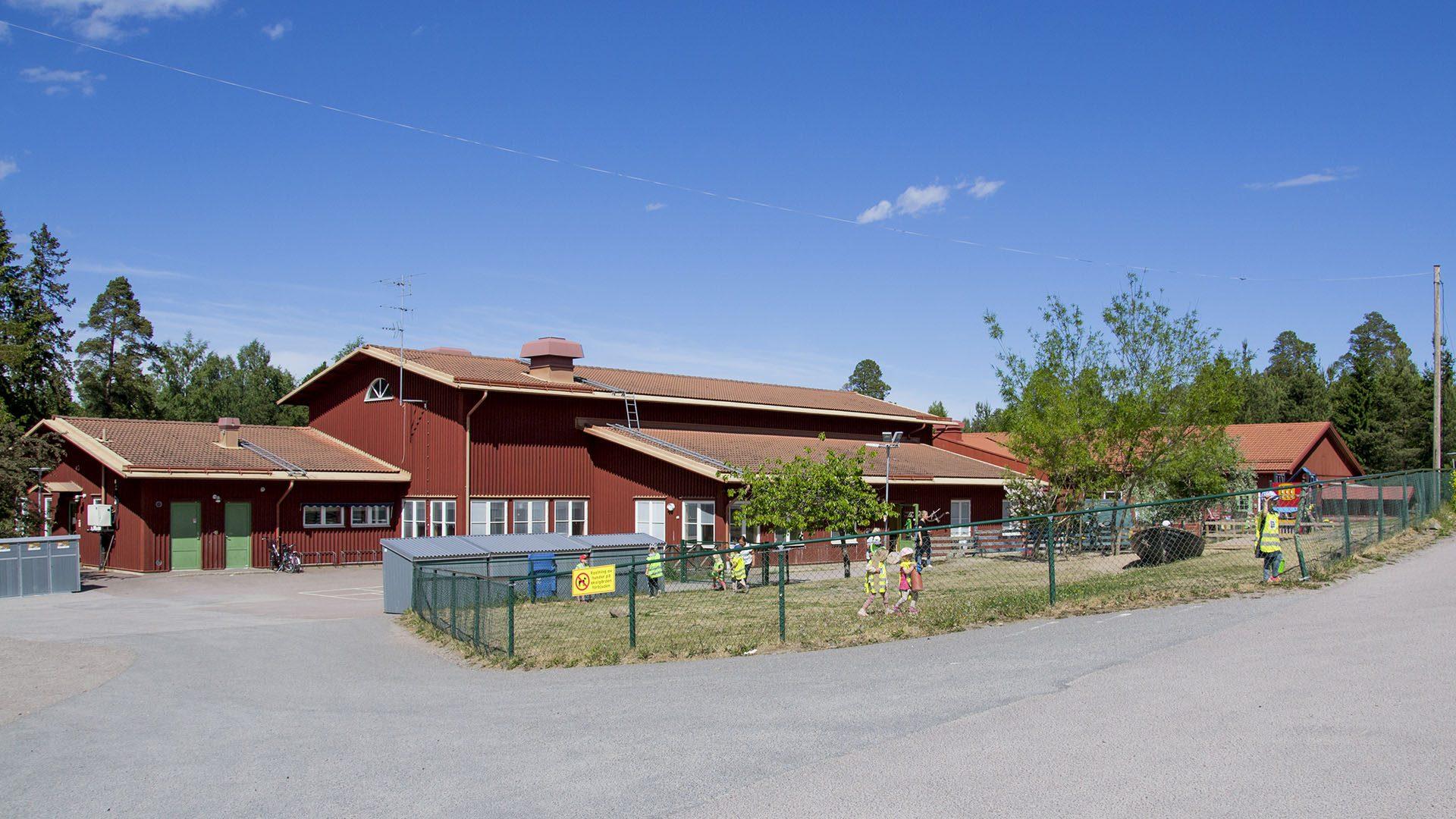Exteriörbild på Ytterharnäs förskola