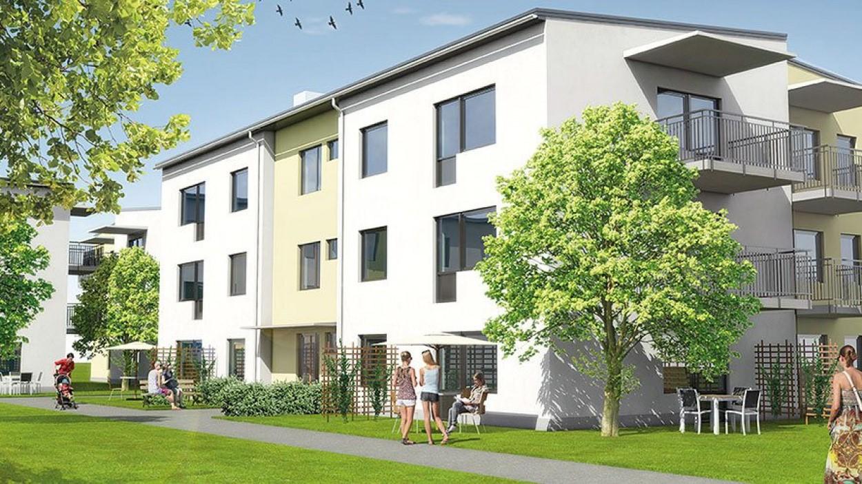 Konceptbild av byggprojektet Villastaden