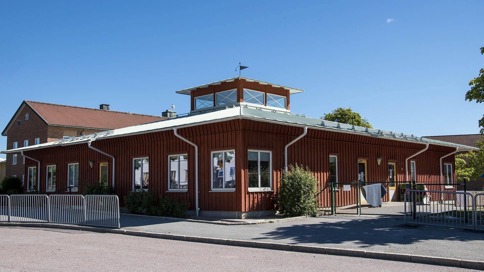 Exteriörbild på Hedesunda förskola