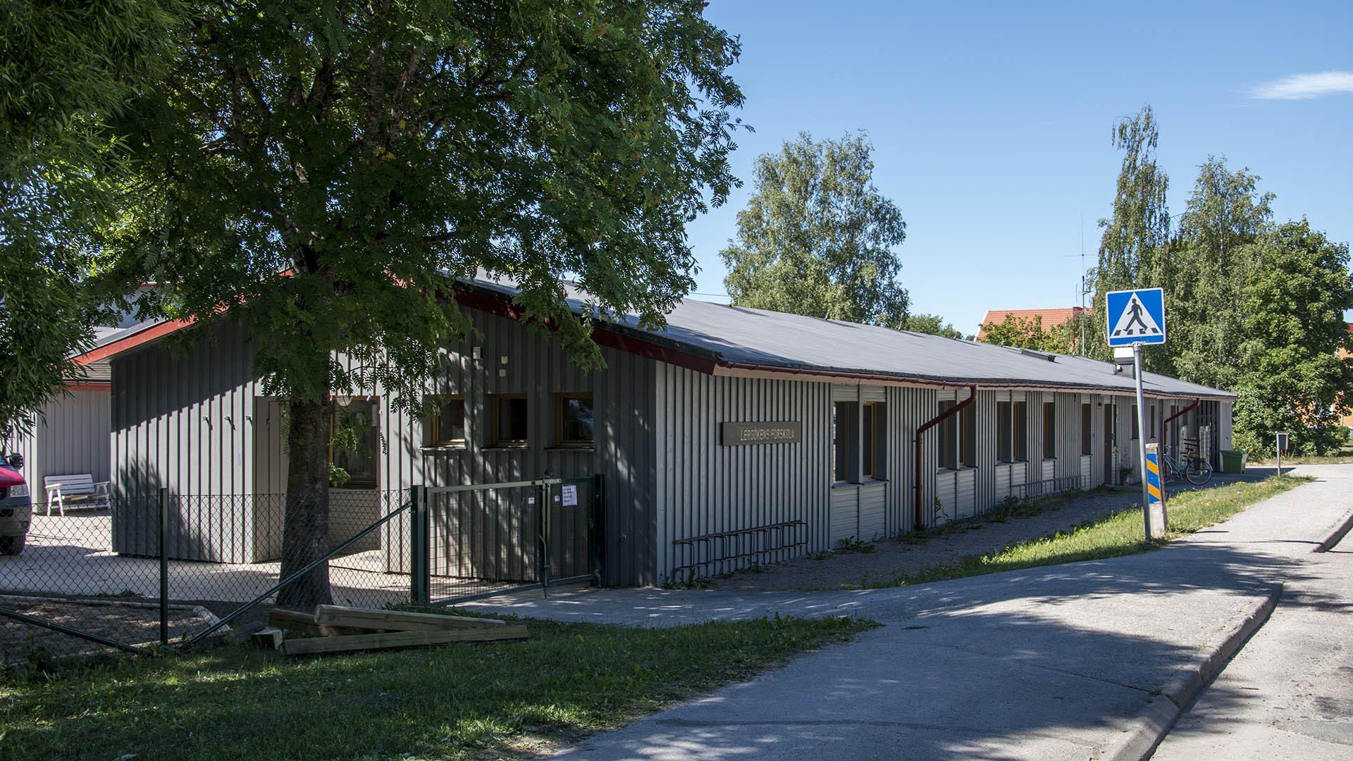 Exteriörbild på Lergökens förskola