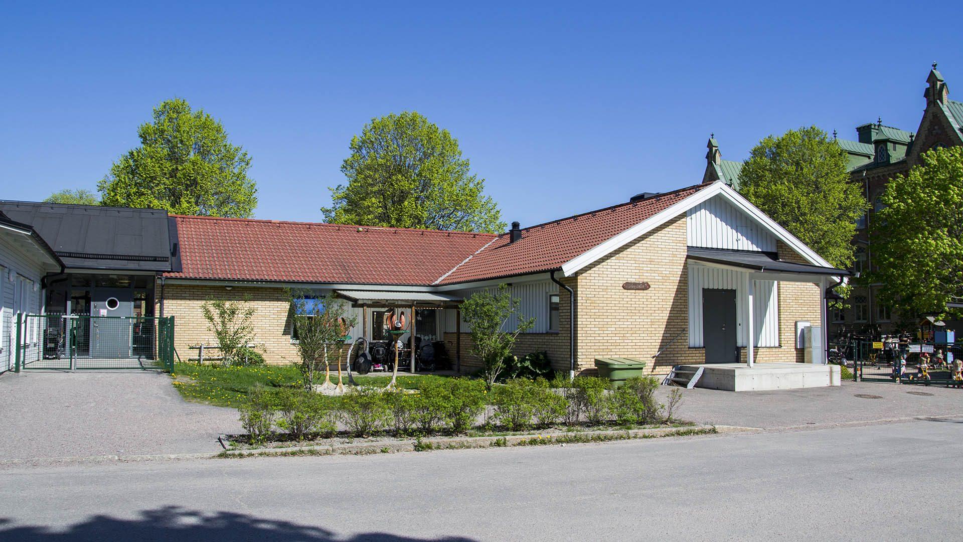 Exteriörbild på Södergårdens förskola
