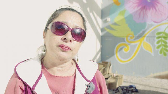 Graffitimålaren Lady Pink
