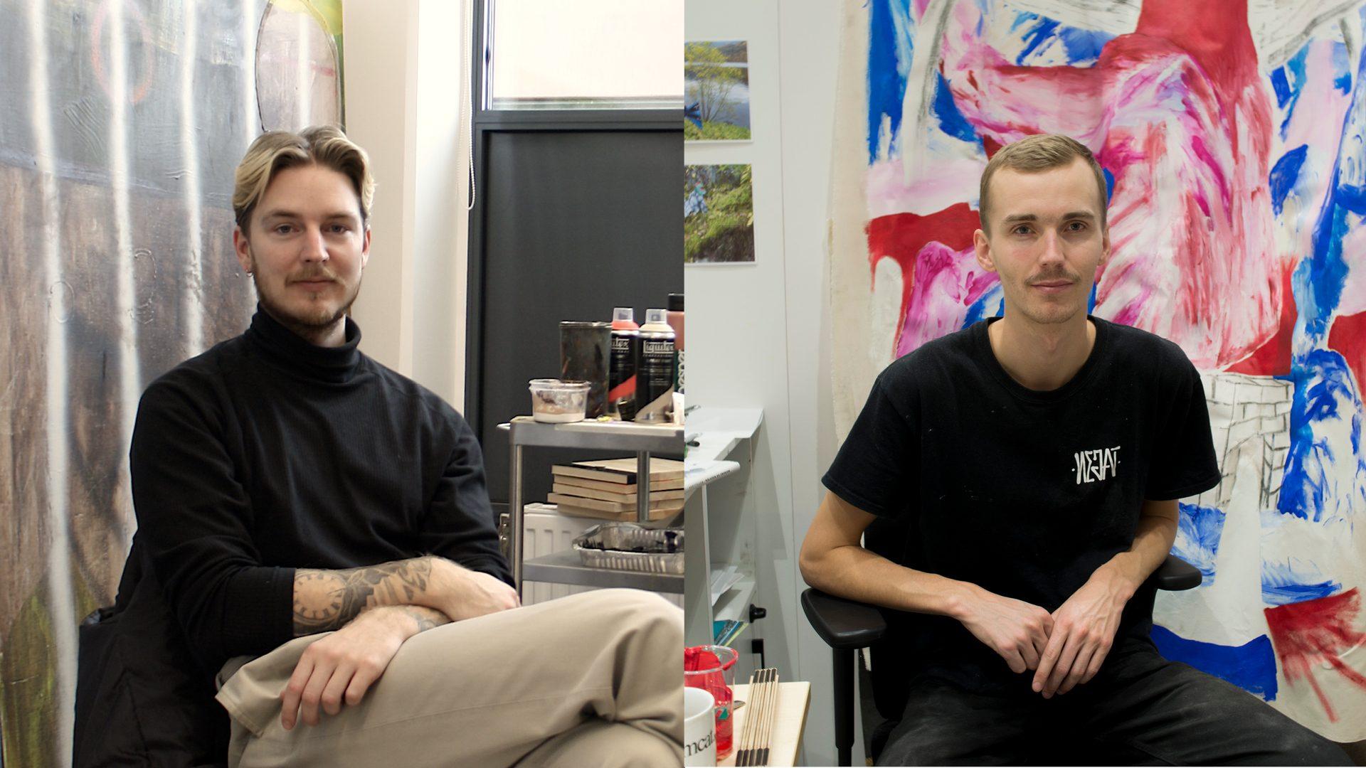 Erik Uddén och Rasmus Jäderström