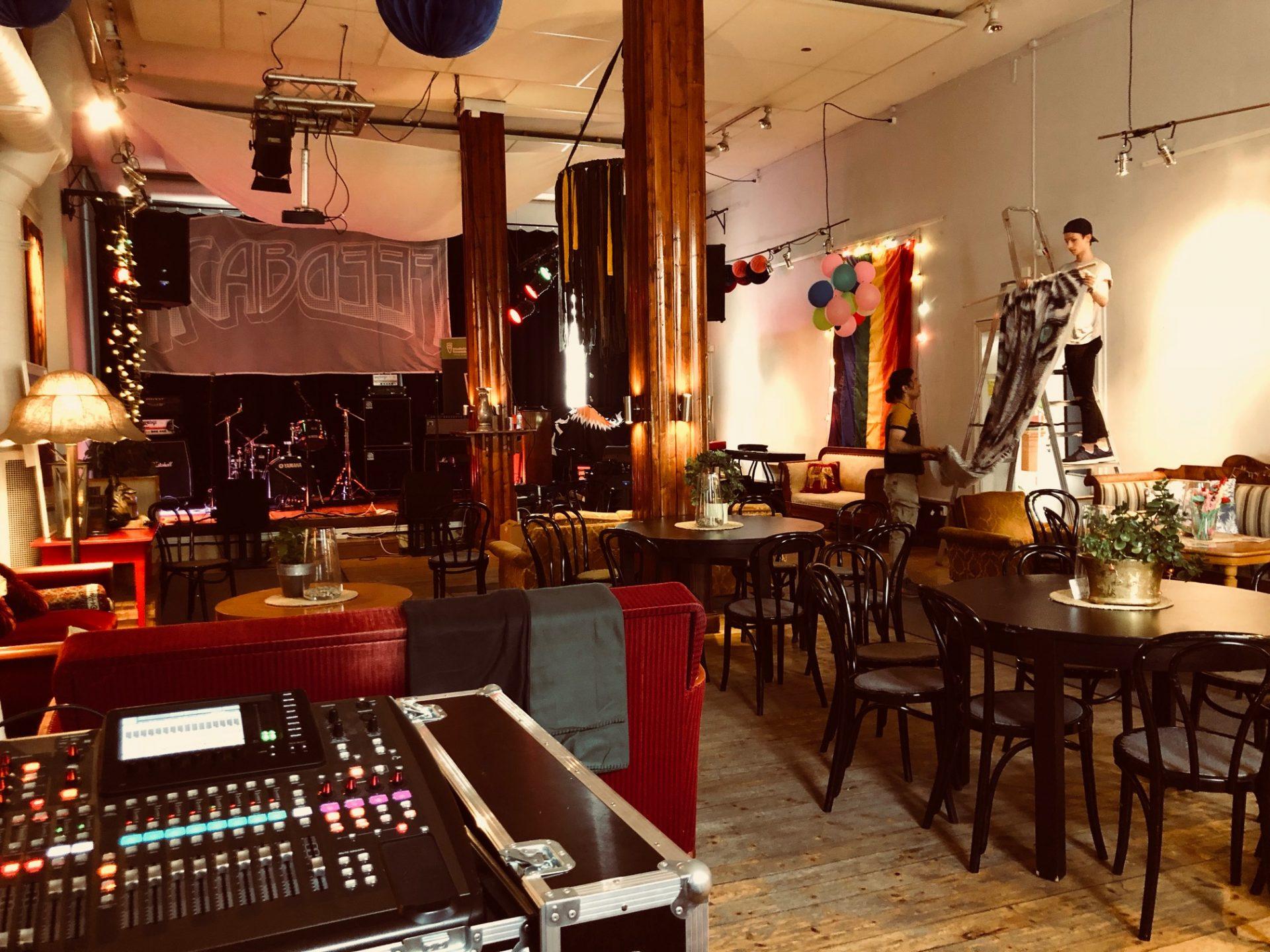 Musikhusets scen & café