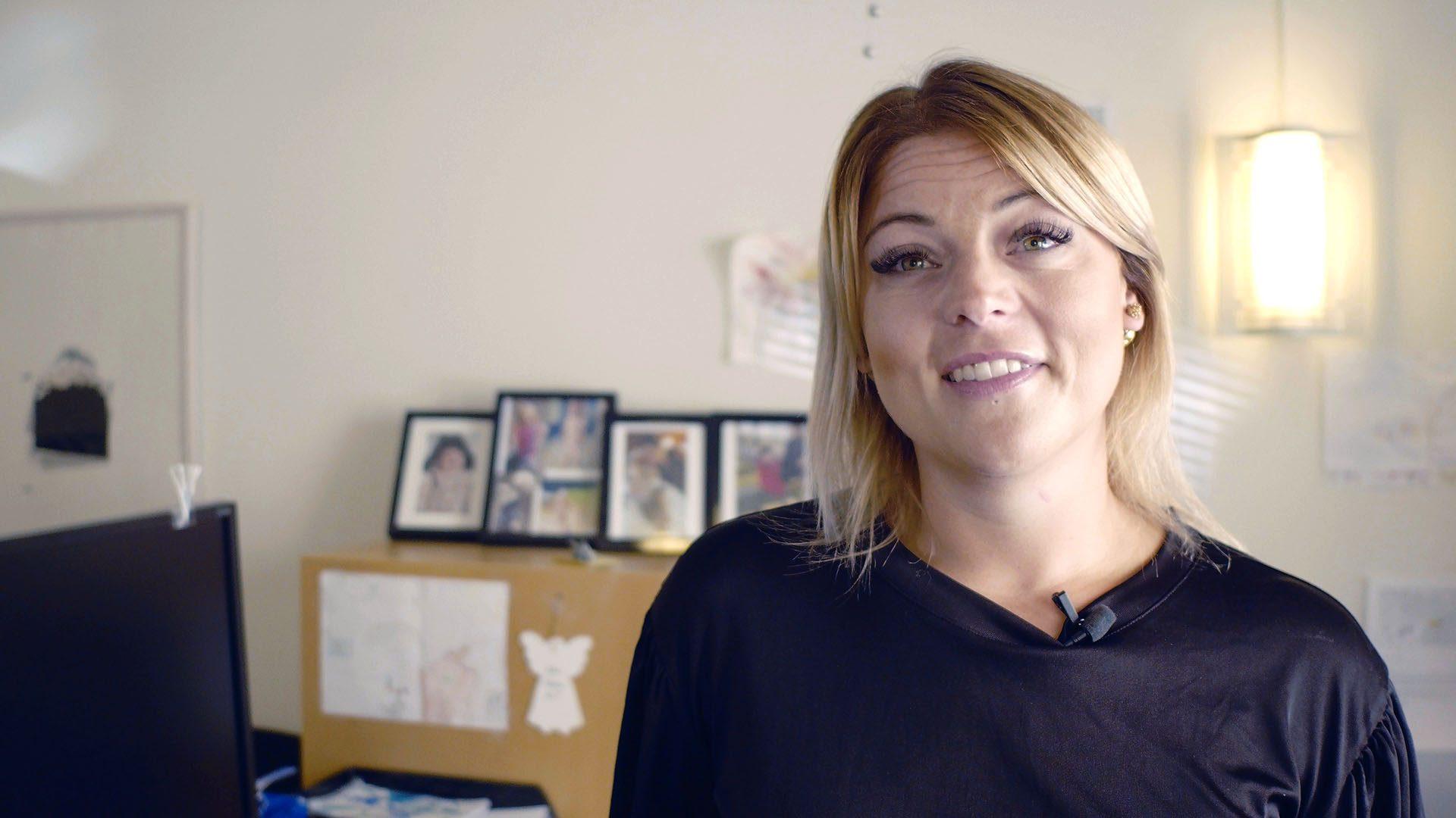 Elin Ullström, socialsekreterare Gävle kommun