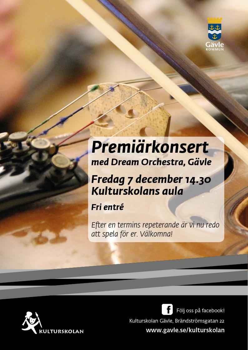 181207 kulturskolan_A4_Dream Orchestra