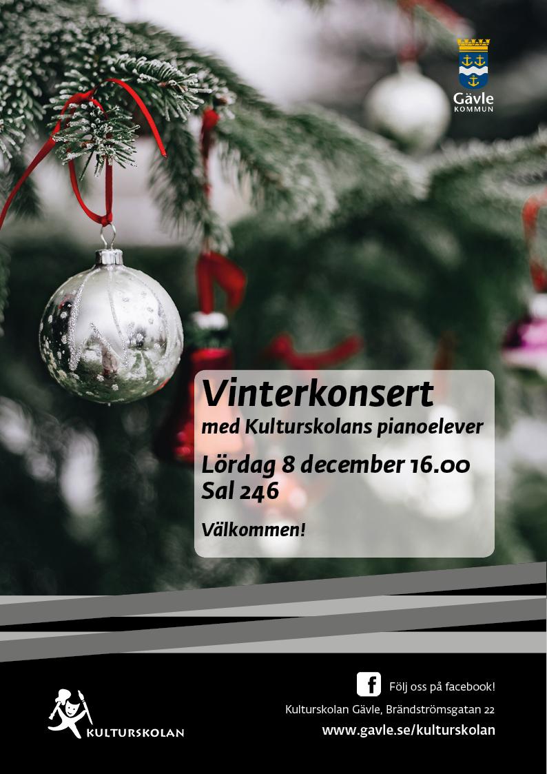 181208 kulturskolan_A4_Vinterkonsert