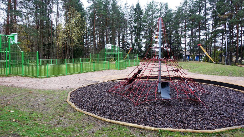 Lek- och akivitetsplats vid Myrmalmsvägen i Bomhus